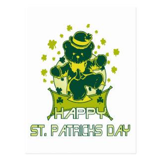 Glücklichen St Patrick Tag Postkarte