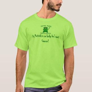 Glücklichen St Patrick Tag von Chemo Ninja T-Shirt
