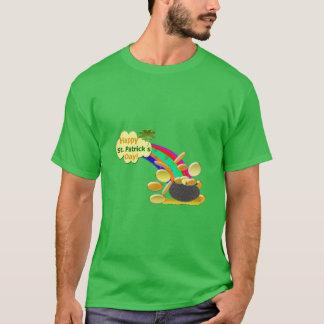 Glücklichen St Patrick Tagesregenbogen T-Shirt