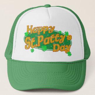 Glücklichen Tag St. Pattys Truckerkappe