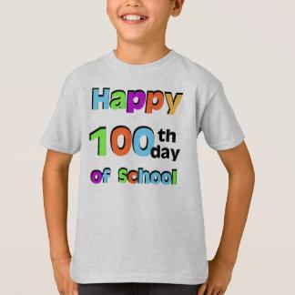 Glücklicher 100. Tag der Schule T-Shirt
