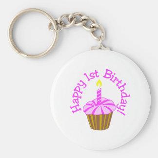 Glücklicher 1. Geburtstag Schlüsselanhänger