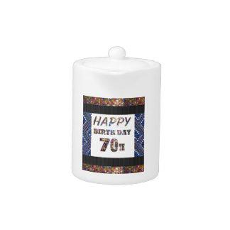 Glücklicher 70. Geburtstag