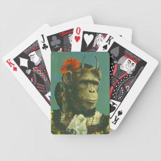 Glücklicher Affe-Dämon-Spielkarten Bicycle Spielkarten