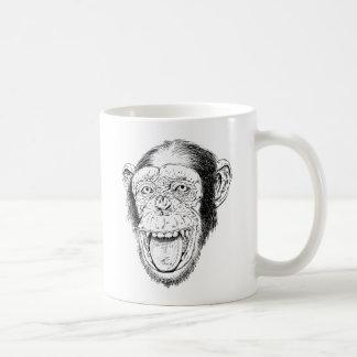 Glücklicher Affe Kaffeetasse