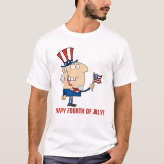 Glücklicher amerikanischer Unabhängigkeitstag T-Shirt