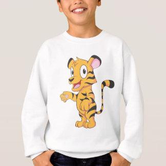 Glücklicher Baby-Tiger CUB Sweatshirt