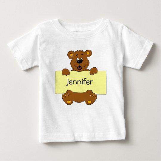 Glücklicher Bär mit Baby T-shirt