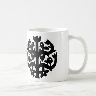 Glücklicher Baum-Sonnenschein Kaffeetasse