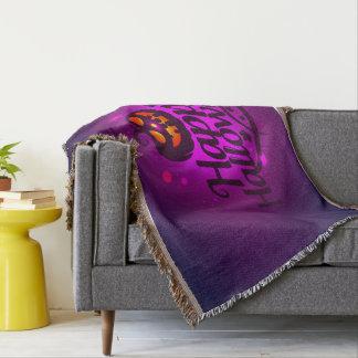 Glücklicher beängstigender Kürbis Halloweens Decke