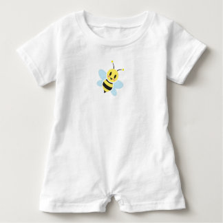 Glücklicher Bienen-Baby-Spielanzug Baby Strampler