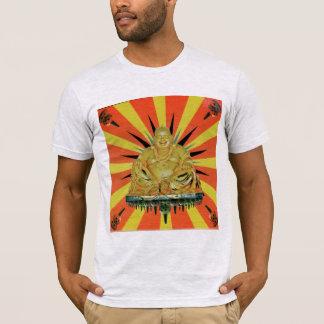 Glücklicher Borobudur Buddha T - Shirt