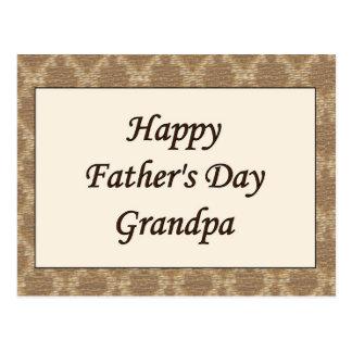 Glücklicher der Vatertags-Großvater Postkarten