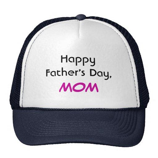 Glücklicher der Vatertags-Mamma-Hut Baseball Mütze