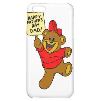 Glücklicher der Vatertags-Vati-Jungen-Bär