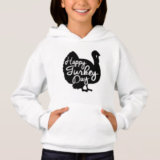 Glücklicher die Türkei-Tag Hoodie