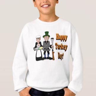 Glücklicher die Türkei-Tag Sweatshirt
