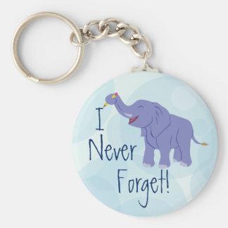 Glücklicher Elefant Schlüsselanhänger