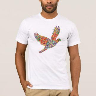 GLÜCKLICHER Engels-Vogel T-Shirt