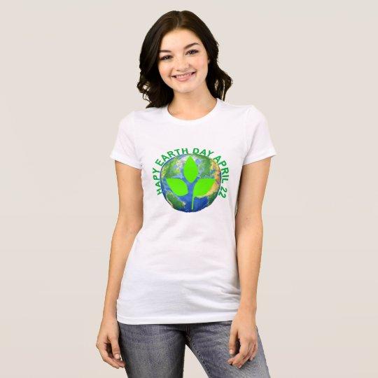 Glücklicher ErdtagesT - Shirt. .png T-Shirt