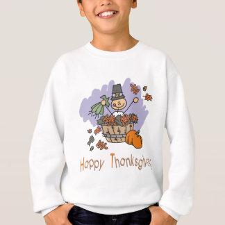 Glücklicher Erntedank Sweatshirt