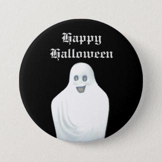 Glücklicher Geist Halloween Runder Button 7,6 Cm