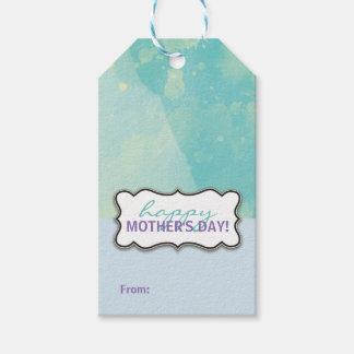 Glücklicher Geschenk-Umbau der Mutter Tages Geschenkanhänger