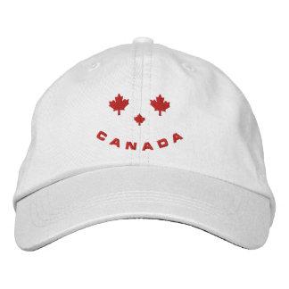Glücklicher Gesichts-Hut Kanadas Bestickte Kappen