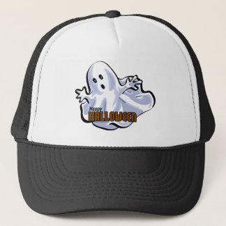 Glücklicher Halloween-Geist Truckerkappe