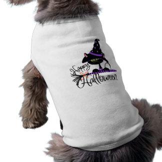 Glücklicher Halloween-Haustier-T - Shirt