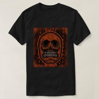 Glücklicher Halloween-Schädel T-Shirt