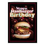 Glücklicher Hamburger-Geburtstag durch Valxart Grußkarte