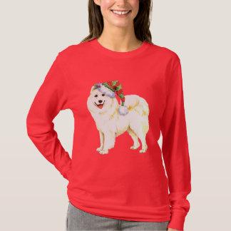 Glücklicher Howlidays Samoyed T-Shirt