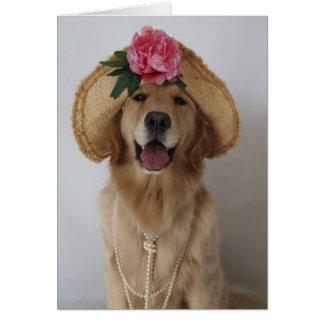 Glücklicher Hund! Karte