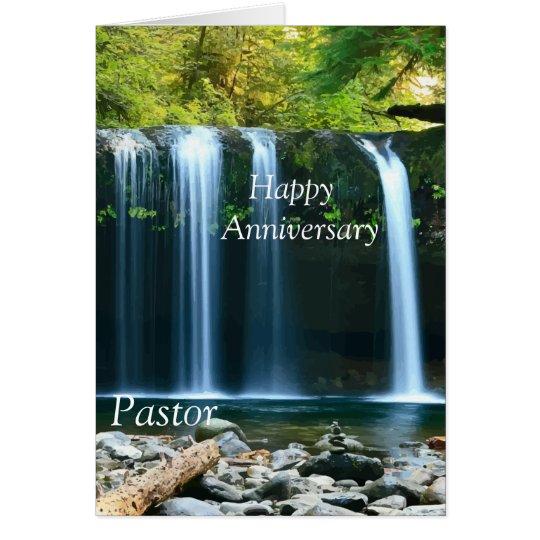 Glücklicher Jahrestags-Pastor Karte