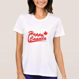 Glücklicher Kanada-T - Shirt