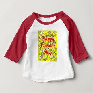 Glücklicher Kanada-Tag 2 Baby T-shirt