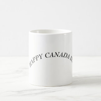 Glücklicher Kanada-Tag Kaffeetasse