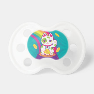 Glücklicher Katze Maneki Neko viel Glück-Topf Gold Schnuller