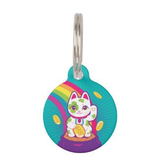 Glücklicher Katze Maneki Neko viel Glück-Topf Gold Tiermarke