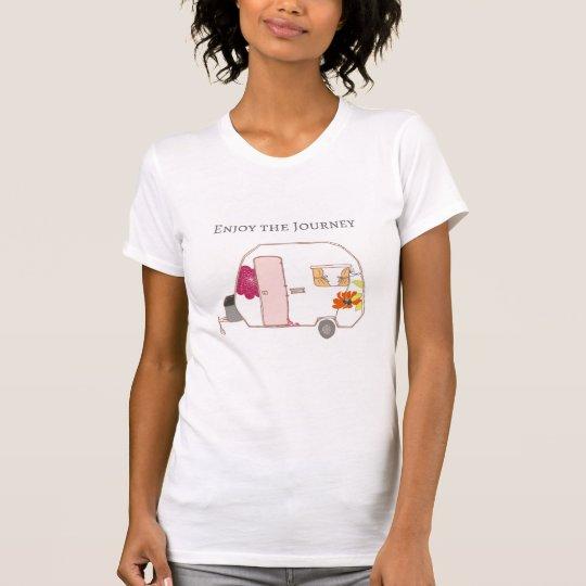 Glücklicher Mensch - genießen Sie die Reise T-Shirt