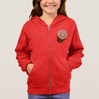 Glücklicher niedlicher hoodie