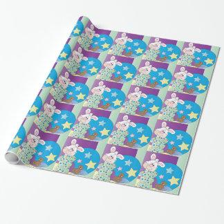 Glücklicher Osterhase Geschenkpapier