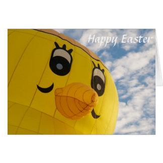 Glücklicher Ostern-Ballon Karte