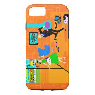 Glücklicher Retro Eltern iPhone 7 Fall iPhone 7 Hülle