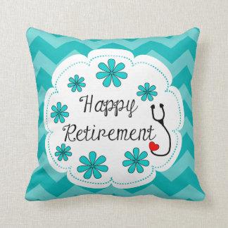 Glücklicher Ruhestand medizinisch Kissen