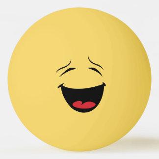 Glücklicher smiley-Klingeln Pong Ball Ping-Pong Ball
