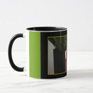 Glücklicher Tasse-Burgunder der Vatertag Vase, Tasse