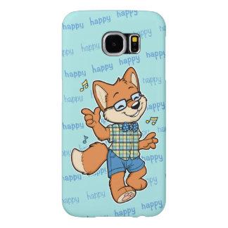 Glücklicher Telefonkasten Galaxie S6 Fox Samsung
