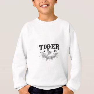 glücklicher Tiger Sweatshirt